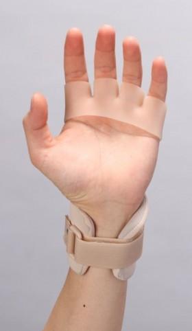 カックアップシリコーン(手掌部)・手背屈装具