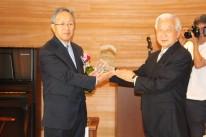 中村ブレイス「第9回石見銀山文化賞」表彰式